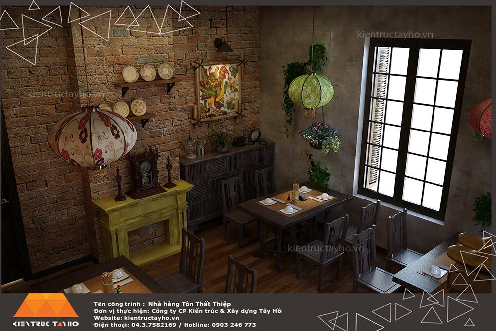 thiet-ke-va-thi-cong-noi-that-nha-hang-old-hanoi-restaurant-2