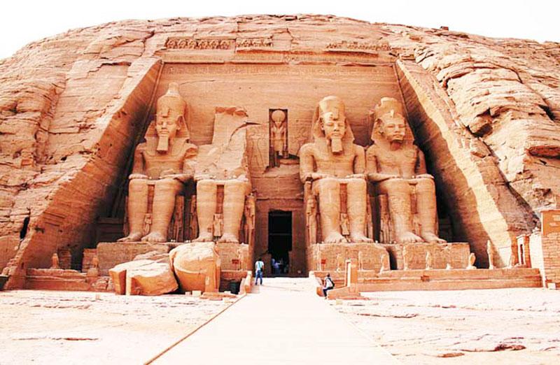 Những thông tin về kiến trúc Ai Cập cổ đại 1