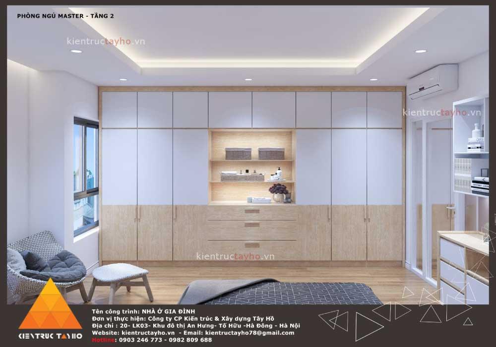 thiết-kế-nội-thất-nhà-liền-kề-hiện-đại-chị-Lan-ecopark-hải-phòng-ngủ-master