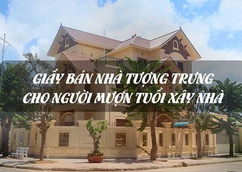 giay-ban-nha-tuong-trung-cho-nguoi-muon-tuoi