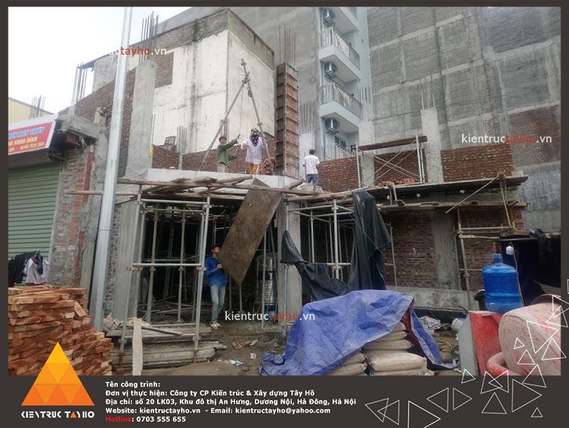 thi-cong-showroom-van-phong-ket-hop-nha-o-chi-van-7